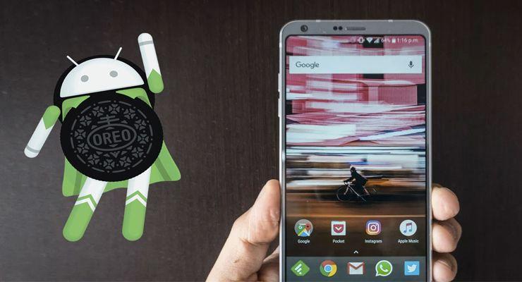 LGG6Oreo actualização, Android Oreo, LG, lg g6, smartphone Android