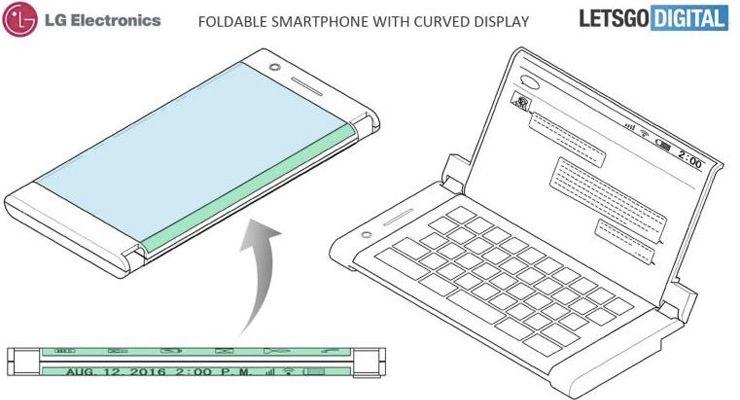 LG Smartphone Dobrável