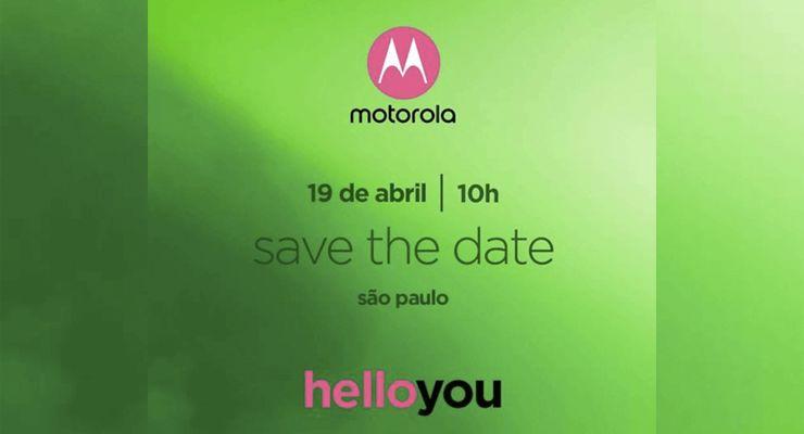 Motorola Moto G6 Convite