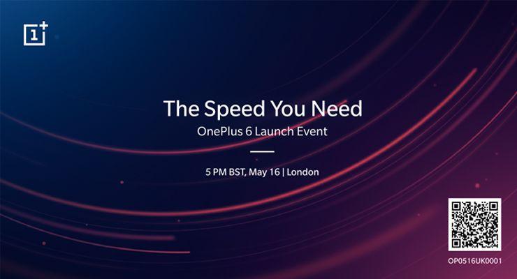 OnePlus 6 evento Londres