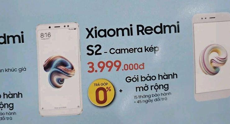 Xiaomi Redmi S2 preço