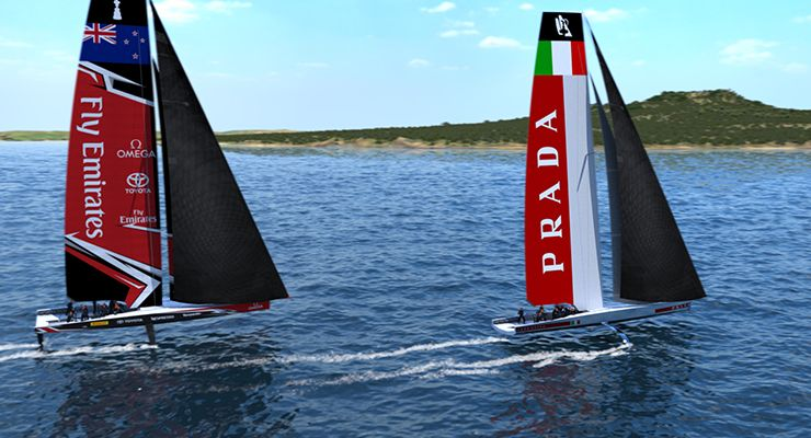 Garmin é Official Supplier da Team Luna Rossa Challenge