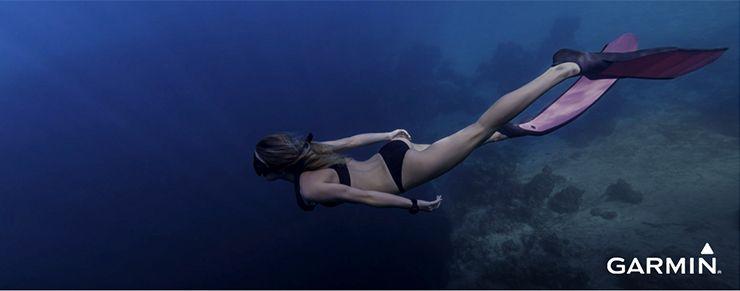 Dicas Garmin para a experiência de mergulho perfeita