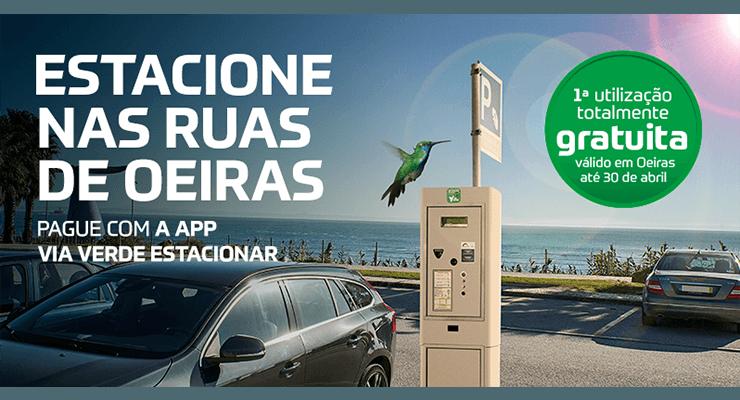 Parques Tejo junta-se à App Via Verde Estacionar