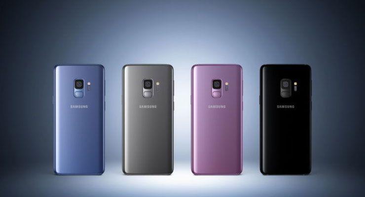 Samsung Galaxy S9 vendas - TecheNet