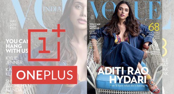 OnePlus 6 Vogue india