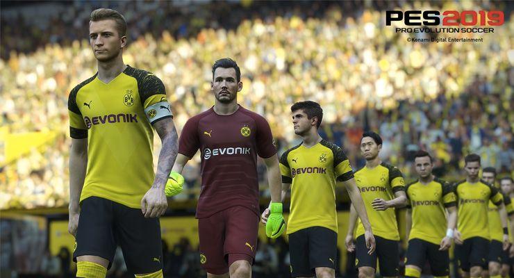 PES 2019 Borussia de Dortmund