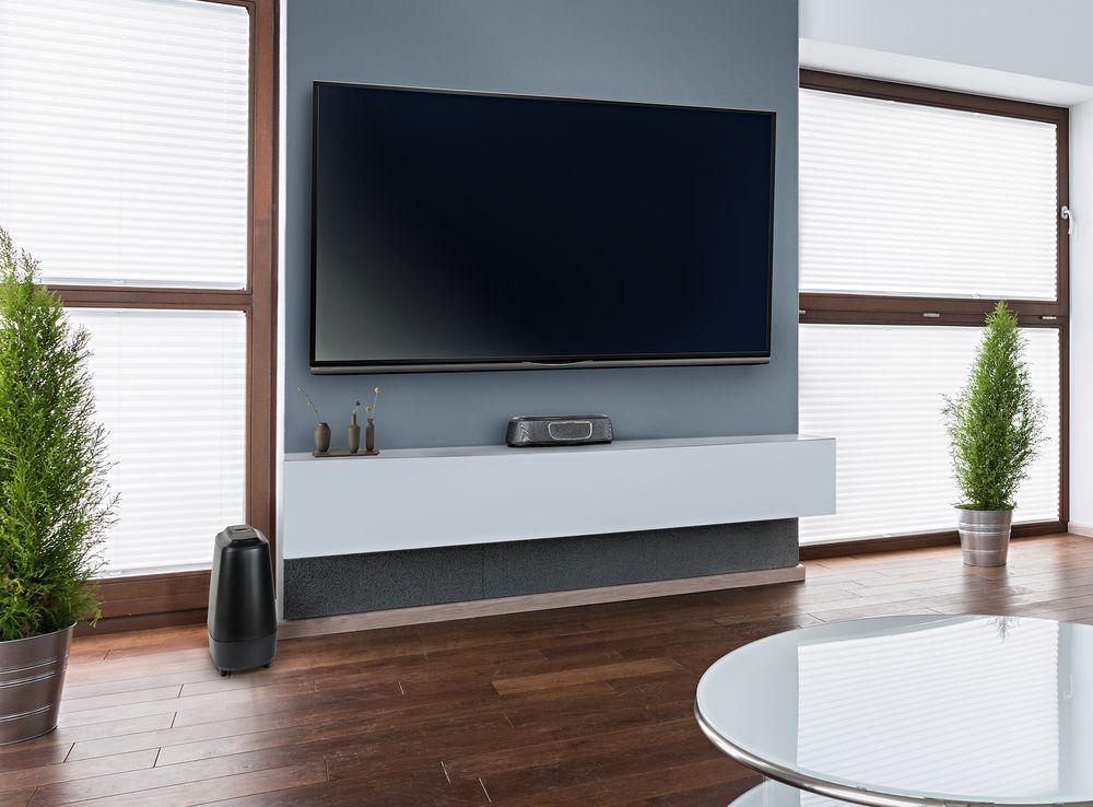 MagniFi Mini inclui as tecnologias proprietárias Voice Adjust e de som surround da Polk