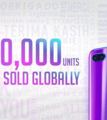 Honor 10 ultrapassa as 3 milhões de unidades vendidas!