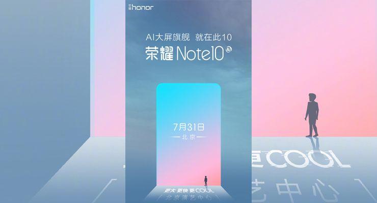 Honor Note 10 - TecheNet