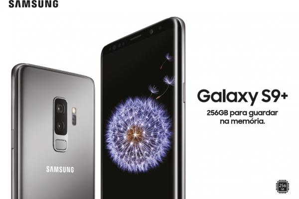 Samsung Galaxy S9 e S9+ Cinzento Titânio e 256 GB chegam a Portugal