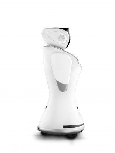 Robot social Sanbot, com IA,