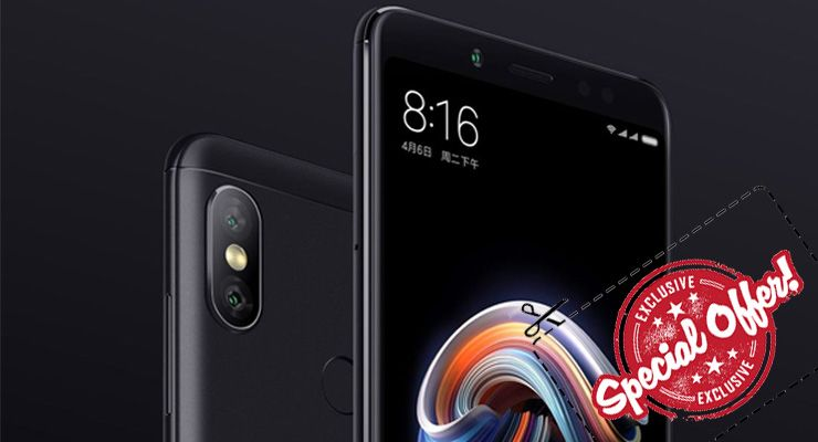 Xiaomi Redmi Note 5 deal - TecheNet