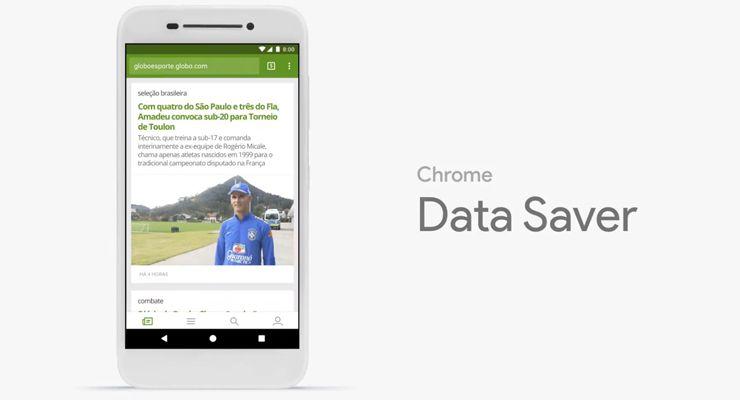 dados móveis chrome - TecheNet