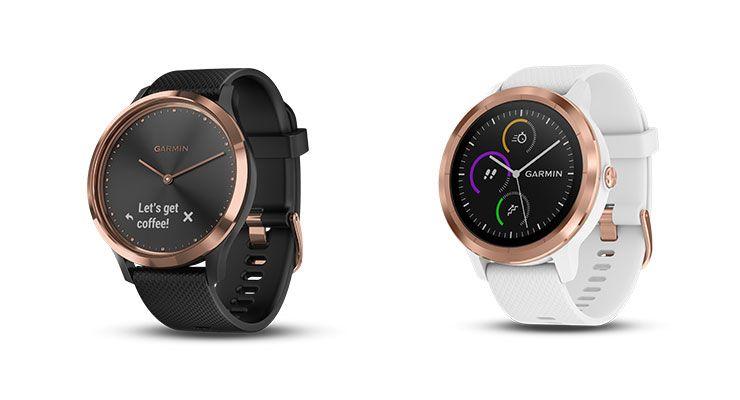 garmin smartwatch dispositivos, ecrã tátil, Garmin, smartwatch, smartwatch híbrido, vívoactive® 3, vívomove HR Sport