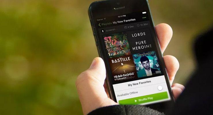 Spotify Dados Móveis - TecheNet