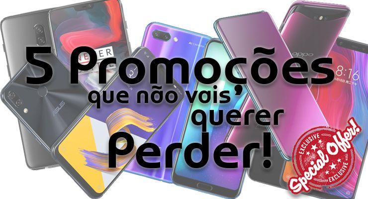 DEALS 2 Asus Zenfone 5, deals, Honor 10, OnePlus 6, Oppo Find X, promoções, Xiaomi Mi 8