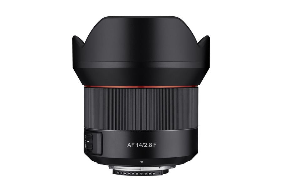 Samyang anuncia a AF 14mm F2.8 F para Nikon F