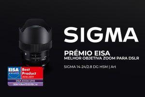 Objetiva Sigma premiada