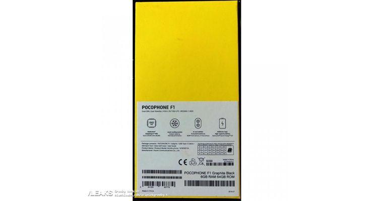 Xiaomi PocoPhone F1 - TecheNet