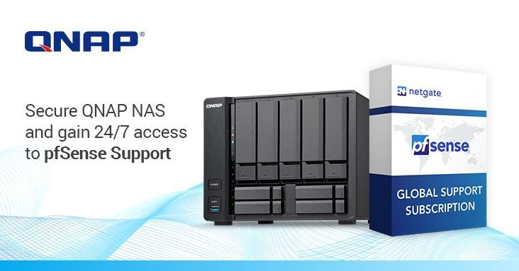 QNAP amplia a segurança em rede com pfSense