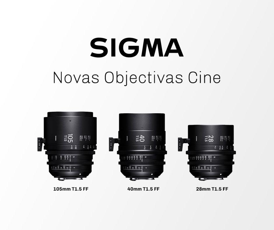 Objetivas Sigma Cine