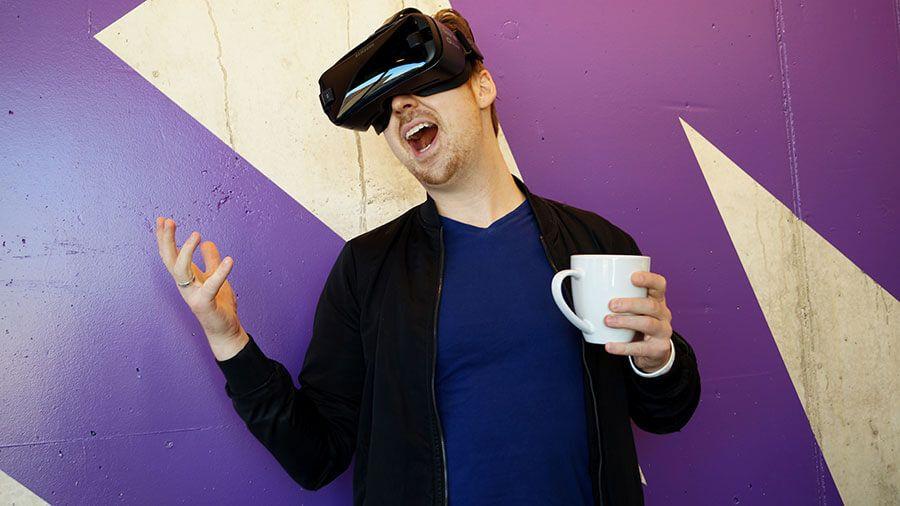 óculos de realidade virtual e aumentada
