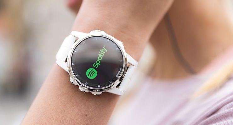 Garmin® anuncia integração com Spotify