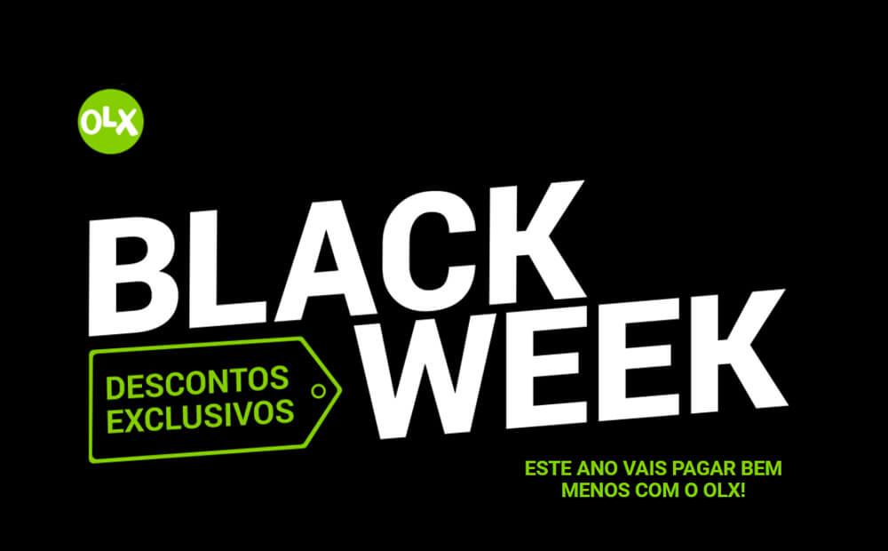 Black Week do OLX oferece bons descontos aos consumidores