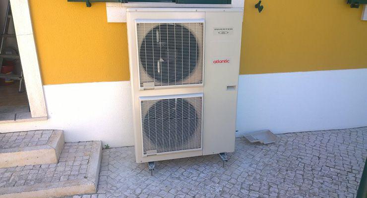 Atlantic em projetos de climatização na Região Oeste de Portugal pela mão do parceiro Luís Fernando