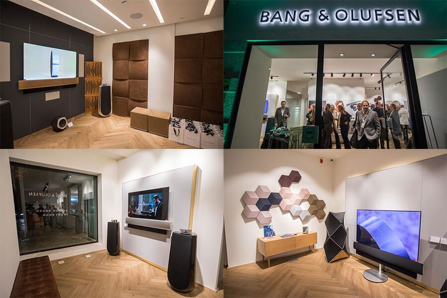 Bang & Olufsen inaugura novo showroom em Portugal