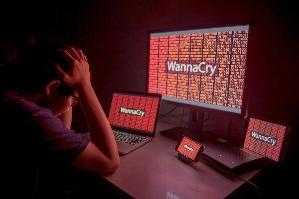 ataque WannaCry software malicioso