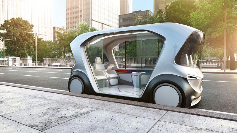 novo conceito de veículo da Bosch para um novo tipo de mobilidade