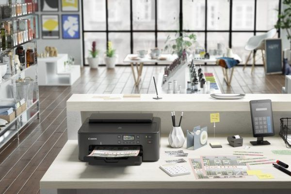 Canon PIXMA TS70: Uma impressora compacta de cinco tinteiros