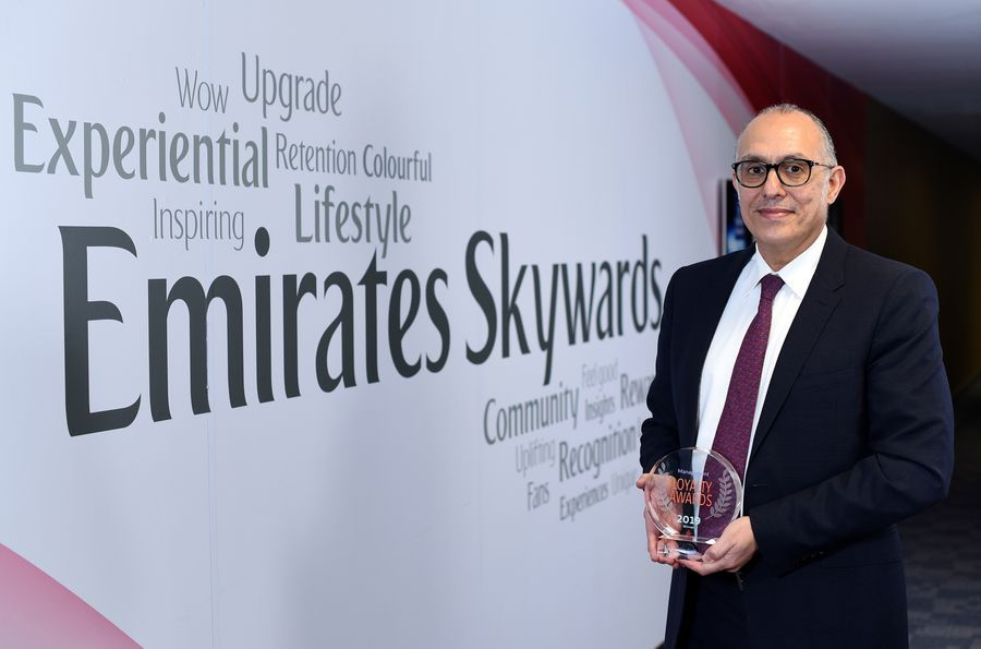 Emirates Skywards premiado no Loyalty Awards de 2019