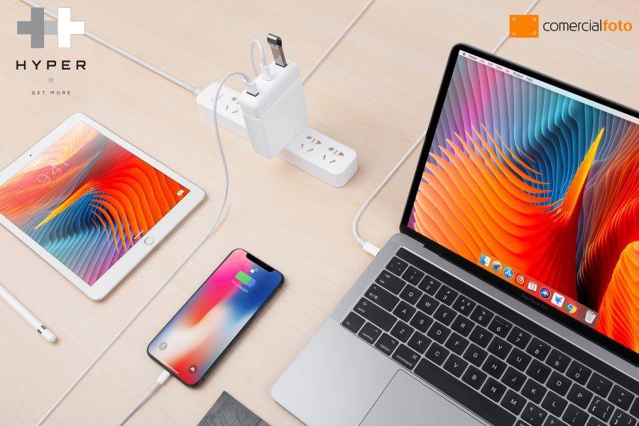 Hyper PR 2 apple, carregadores, Comercialfoto, conexão, Hub, Hyper, ligações, produtos