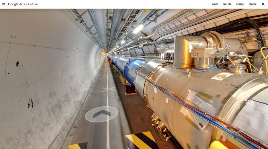 Explore CERN's 27 km long Large Hadron Collider with Street View