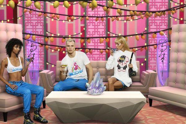 THE SIMS revela colaboração com a MOSCHINO, marca de luxo italiana