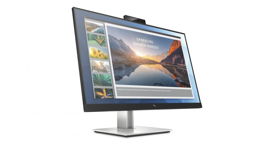 HP E24d G4 FHD Advanced Docking Monitor  Front Right