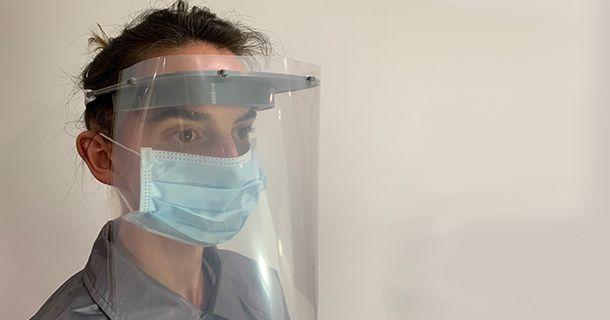 Proteção facial