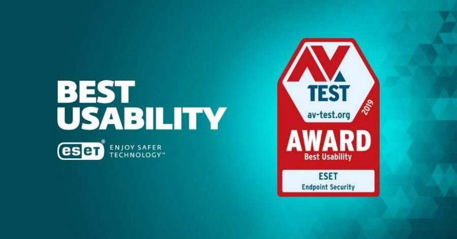 ESET Endpoint Security distinguido nos AV-Test Awards 2019