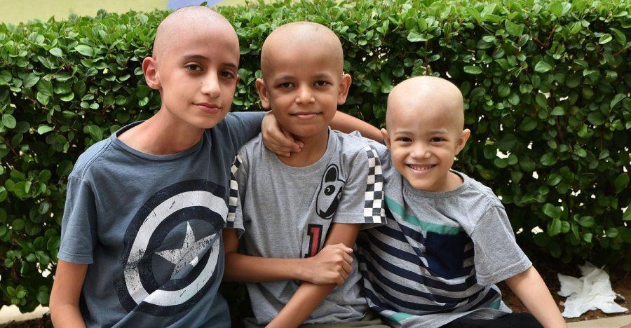 Crianças atendidas pelo Instituto Ronald McDonald