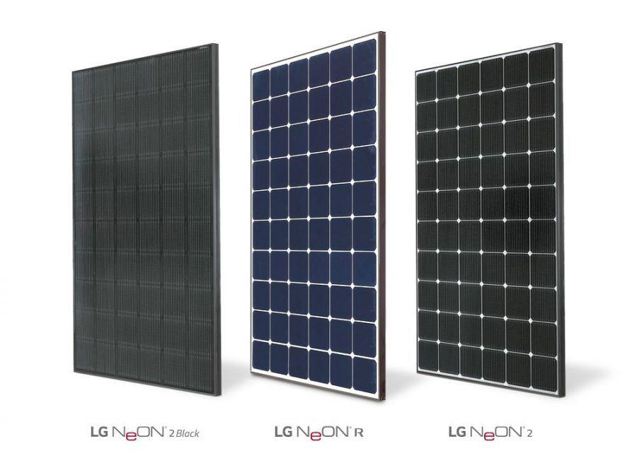 LG Gama NeOn energia solar, LG Portugal, solução energética