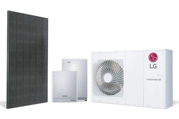 Soluções de energia solar da LG
