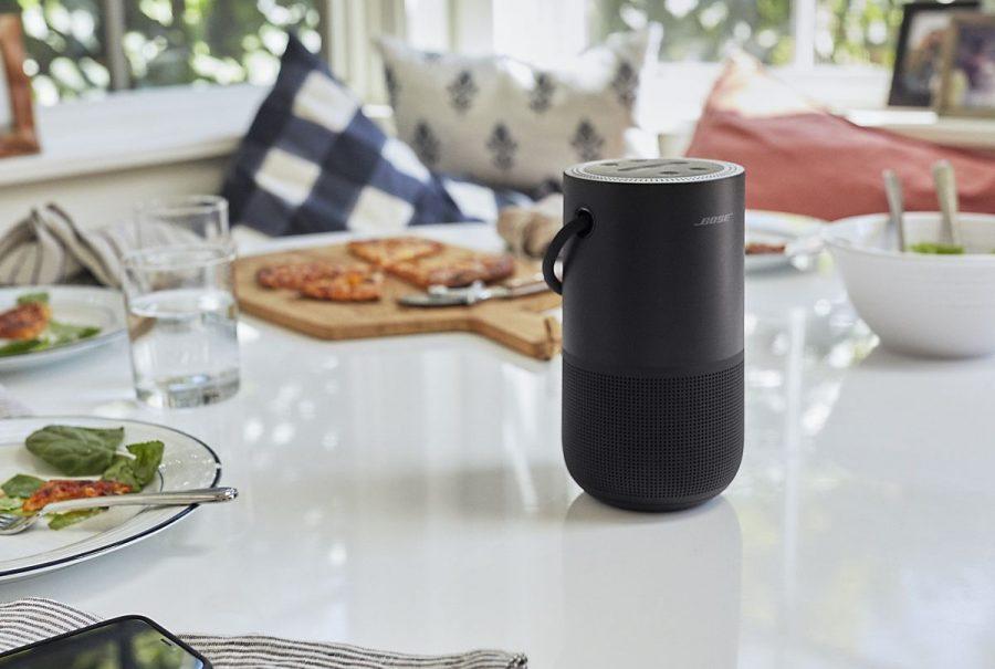 Portable Home Speaker: Uma coluna sem fios compacta e versátil da Bose