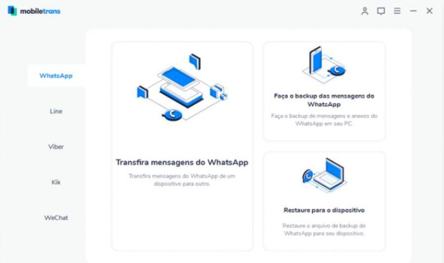 Transferir WhatsApp