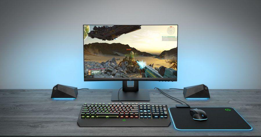 HP X24c Gaming Monitor 8