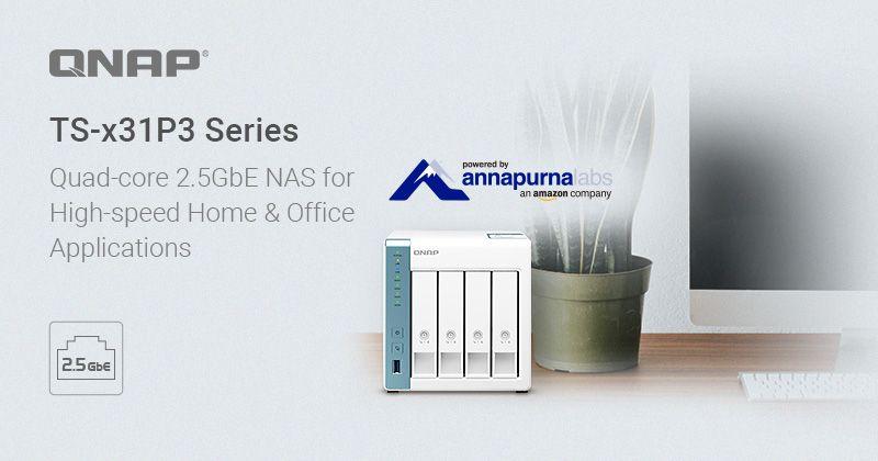 QNAP lança NAS Quad-core 1,7GHz 2.5GbE para aplicações de alta velocidade