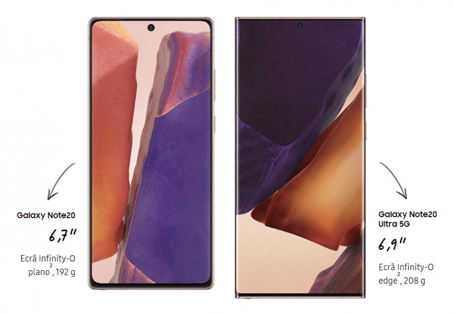 Samsung Galaxy Note 20 Ultra e Galaxy Note 20
