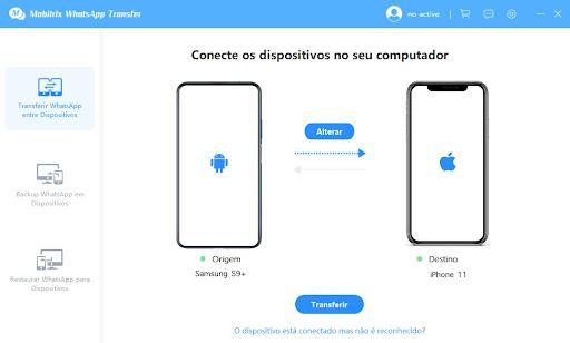 Mobitrix: primeiro passo para transferência de arquivos WhatsApp